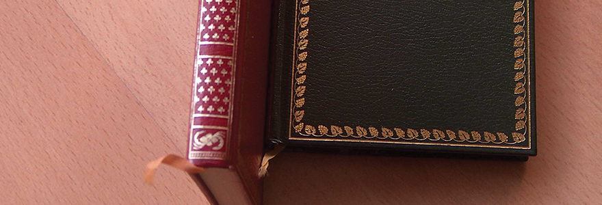 Connaitre la valeur des livres reliés cuir