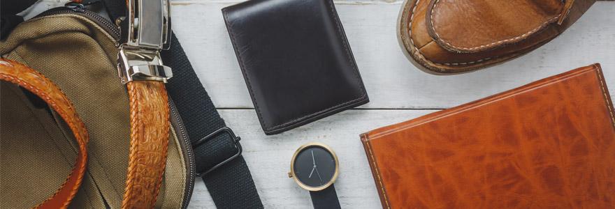 Cadeau tendance masculin : optez pour le cuir