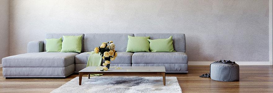 Achat de canapés d'angle pour salons : dénicher des prix avantageux en ligne