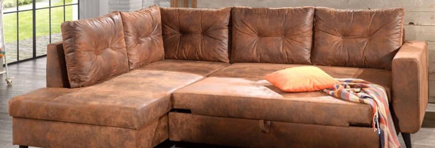 Acheter un canapé style industriel en ligne